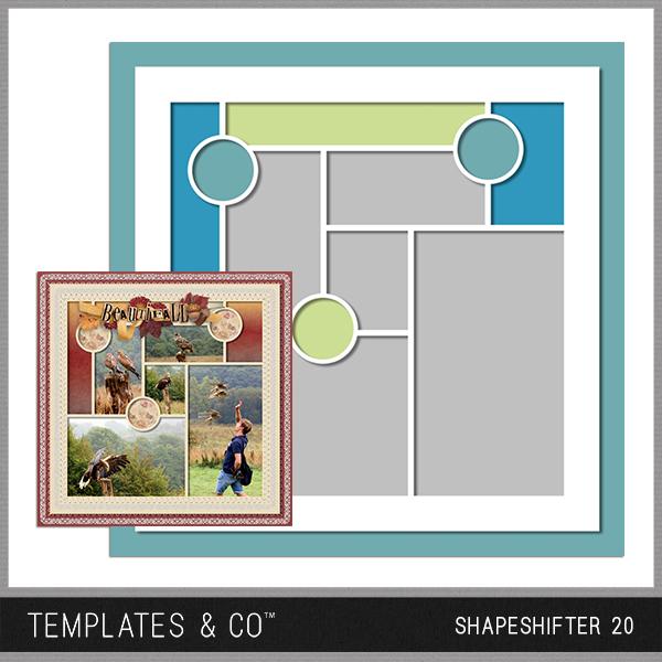 Shapeshifter 20 Digital Art - Digital Scrapbooking Kits