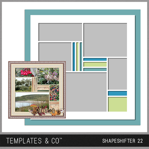 Shapeshifter 22 Digital Art - Digital Scrapbooking Kits
