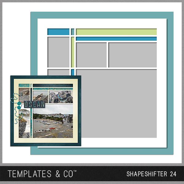 Shapeshifter 24 Digital Art - Digital Scrapbooking Kits