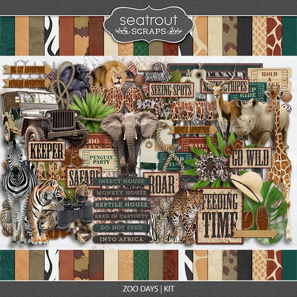 Zoo Days Kit
