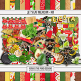 Let's Eat Mexican Page Kit