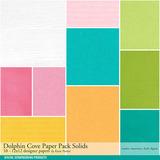 Dolphin Cove Scrapbook Bundle