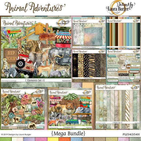 Animal Adventures Mega Bundle