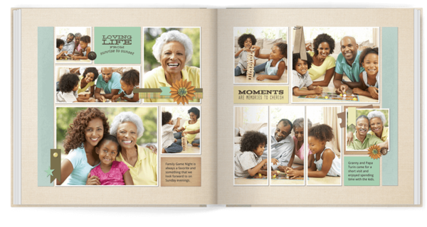 Family Adventures Photo Book