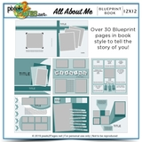 All About Me Blueprint Book