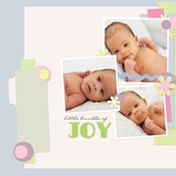 Gentle Baby 12x12 Predesigned Pages