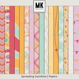 Spreading Sunshine Page Kit