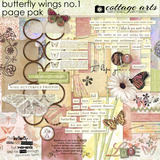 Butterfly Wings 1 Page Pak