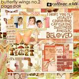 Butterfly Wings 2 Page Pak