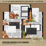 Homemade Happiness 8.5x11 Cookbook