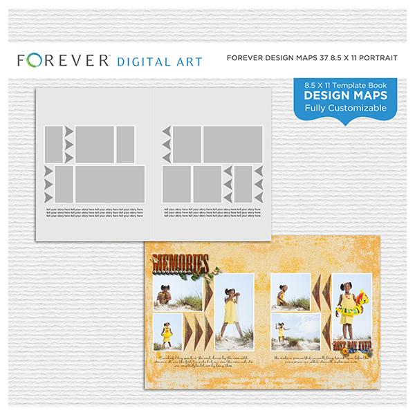 Forever Design Maps 37 8.5x11 Portrait