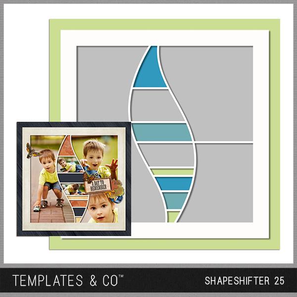 Shapeshifter 25 Digital Art - Digital Scrapbooking Kits