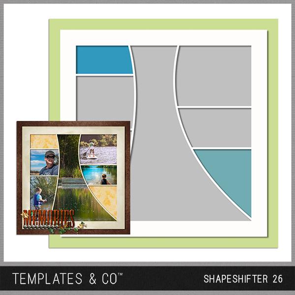 Shapeshifter 26 Digital Art - Digital Scrapbooking Kits