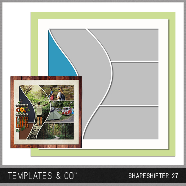 Shapeshifter 27 Digital Art - Digital Scrapbooking Kits