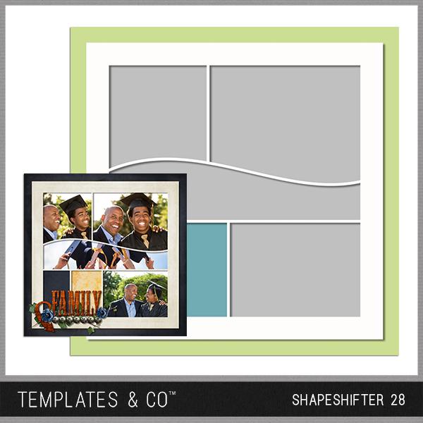 Shapeshifter 28 Digital Art - Digital Scrapbooking Kits