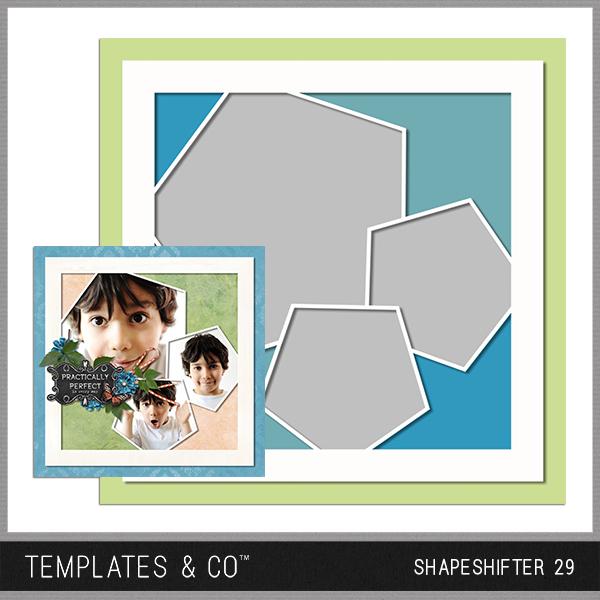 Shapeshifter 29 Digital Art - Digital Scrapbooking Kits