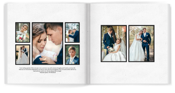 Simply Matted White Photo Book