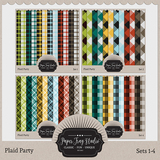 Plaid Party Sets 1-4