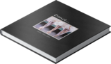 Simply Matted Black Pre-Designed Book