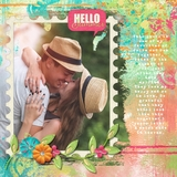 Summertime Pre designed & editable pages