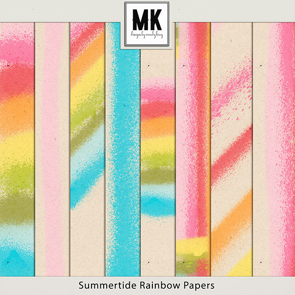Summertide Rainbow Papers