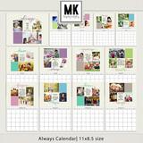 Always Calendar 8.5x11