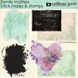 Family Matters Click.Masks & Stamps