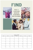 Remember Calendar 12x18