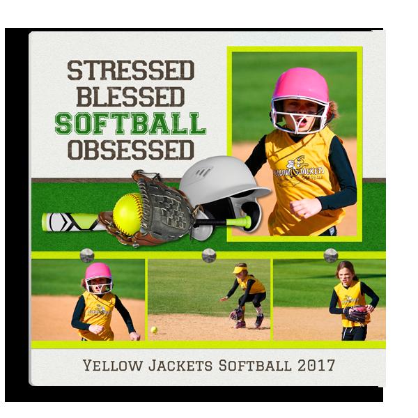 Softball Obsessed Panel