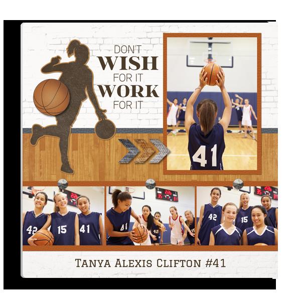 Basketball Wish Panel Panel
