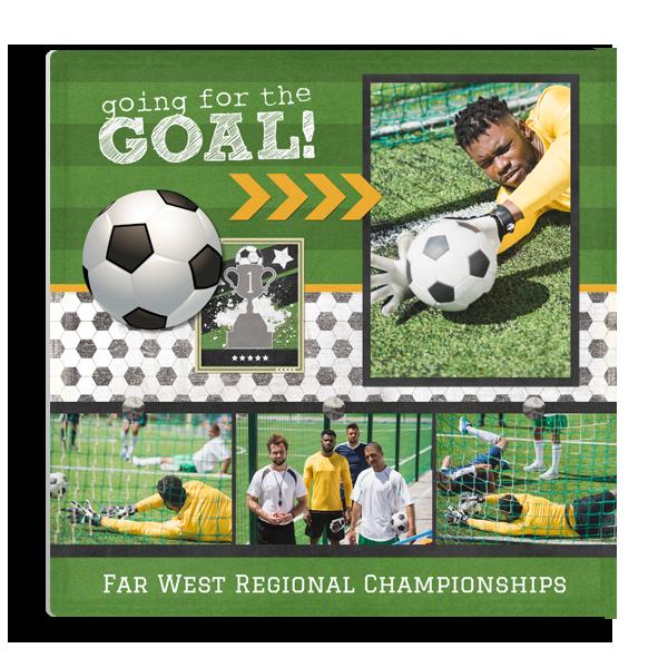 Soccer Goal Panel Panel