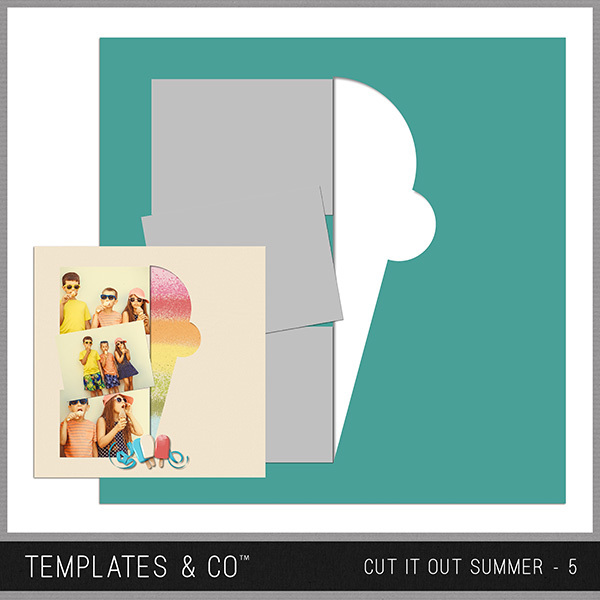 Cut It Out Summer - 5 Digital Art - Digital Scrapbooking Kits