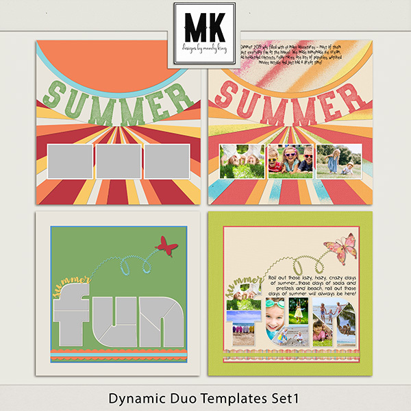 Dynamic Duo Templates Set 1