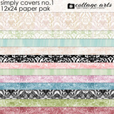 Simply Covers 1 12x24 Paper Pak