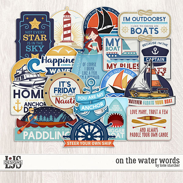 On The Water - Words