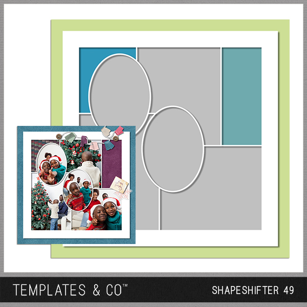 Shapeshifter 49 Digital Art - Digital Scrapbooking Kits