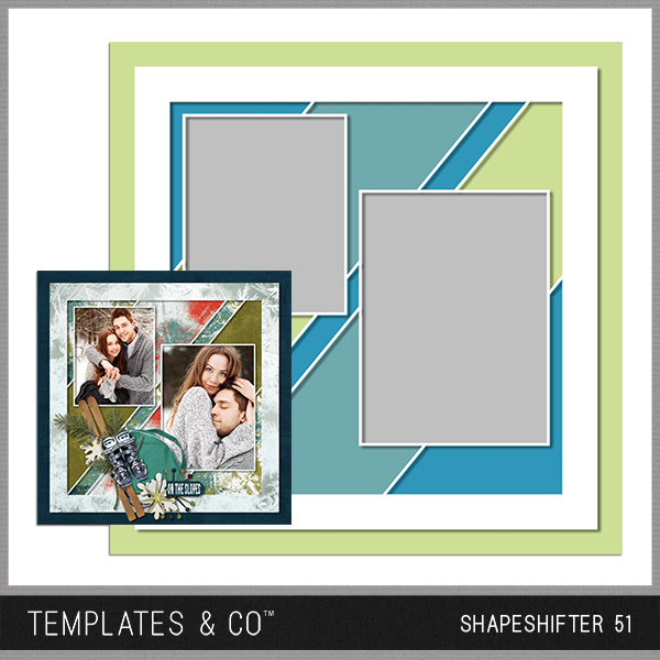 Shapeshifter 51 Digital Art - Digital Scrapbooking Kits
