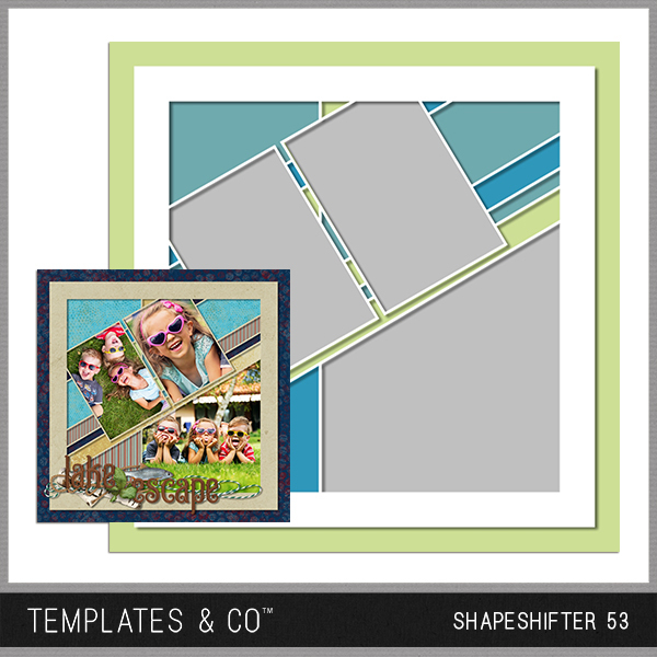 Shapeshifter 53 Digital Art - Digital Scrapbooking Kits