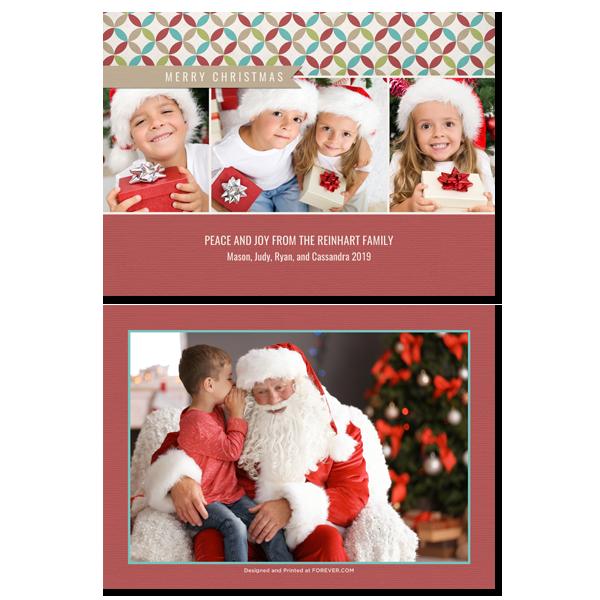 Christmas Banner Card Card