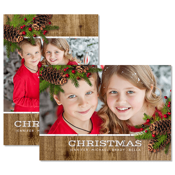 Simply Christmas Card Card