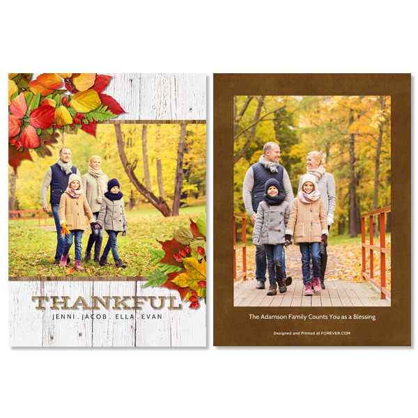 Simply Thankful Card