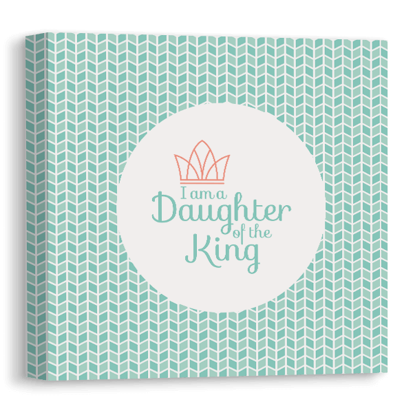 Daughter of the King Canvas Canvas