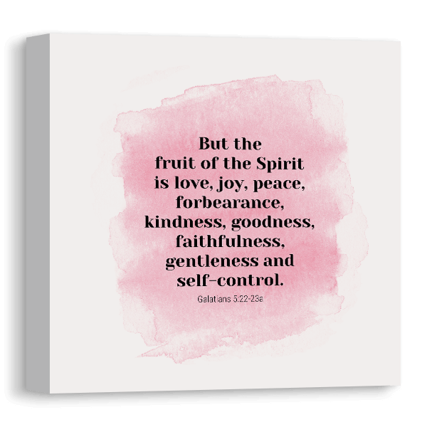 Fruit Of The Spirit Canvas Canvas