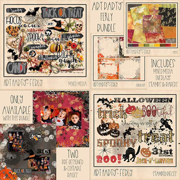 Ferly Complete Collection Digital Art - Digital Scrapbooking Kits