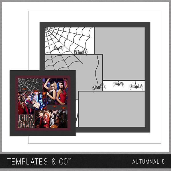 Autumnal 5 Digital Art - Digital Scrapbooking Kits