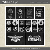 My Year - October Card Kit 3