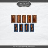 Escape on Horseback - Alpha Sets