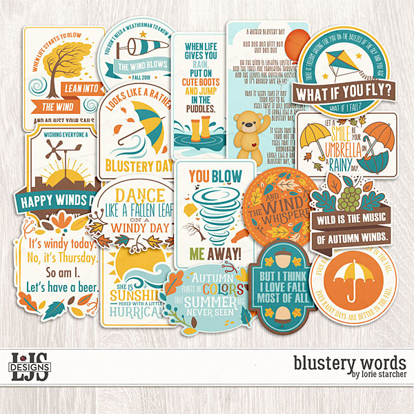 Blustery Words