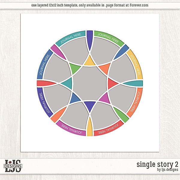 Single Story 2 Digital Art - Digital Scrapbooking Kits