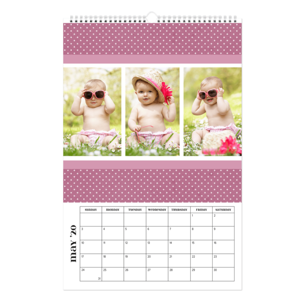Three's A Charm Calendar
